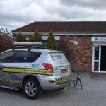 Cctv install and alarm upgrade today at Levenvale Dentists Yarm