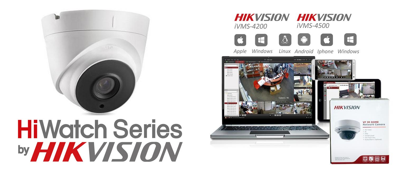 Hi Watch Hik Vision CCTV